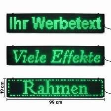 Programmierbare LED-Laufschrift grün wlan handyDisplay günstig kaufen laufleiste