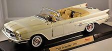 Chrysler 300 F Cabriolet 1960 Serie PC3-300 bianco 1:18 Yat Ming