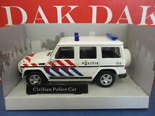 Die cast 1/43 Modellino Auto Polizia Police Mercedes Classe-G Olanda by Cararama