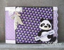 Marianne Design Collectables - Eline's PANDA AND BEAR Craft Die Set COL1409