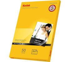 100 Sheets Kodak Ultra Premium 280gsm Glossy A4 Photo Paper
