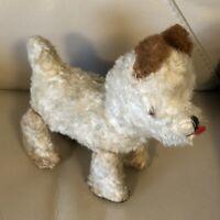 1950s Schuco Dog Trip Trap Pull A Long Scottie Terrier Toy German Vintage Retro