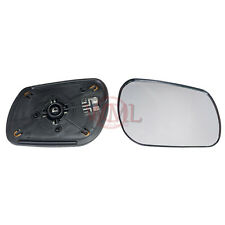 MAZDA 6 2002->2006 DOOR/WING MIRROR GLASS SILVER CONVEX,HEATED &BASE,RIGHT SIDE