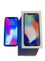 iPhone X 256GB - Silver/White  - Unlocked - Excellent Condition - w/Accessories