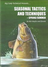 MAYLIN ROB COARSE FISHING BOOK SEASONAL TACTICS SPRING SUMMER CARP hardback NEW