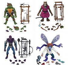 Super7 TMNT Ultimates Wave 1 Set Raphael, Foot Soldier, Baxter Splinter In Stock