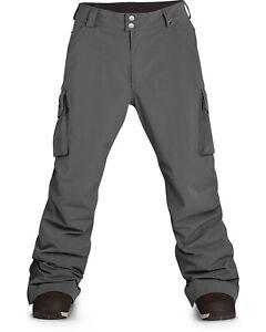Dakine Badger Shell Snowboard Pants Men's Large Castlerock Gray New