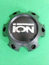 Ion Alloy 134 135 Matte Black Wheel rim Center Hub Cap 6 Lug 6x135 ford lincoln