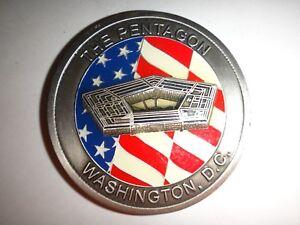 US Department Of Defense THE PENTAGON WASHINGTON D.C. 2-Side Challenge Coin