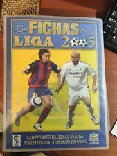 Álbum Fichas De La Liga 2005 Campeonato Nacional De Liga Primera División...
