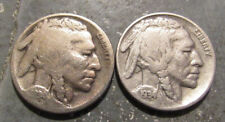1934P and 1934D Buffalo Nickels
