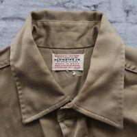 Vintage Penney's Big Mac Klondike Jr Work Shirt S M California Beaches & Parks