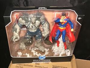 "DC Multiverse Superman vs. The Devastator 7"" Action Figure Multipack IN STK MIP!"