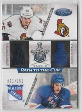 12-13 Certified Path to the Cup Quarter Finals Erik Karlsson/Del Zotto 71/250