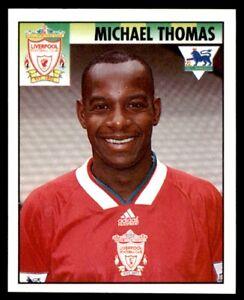 Merlin Premier League 95 Michael Thomas Liverpool No. 256