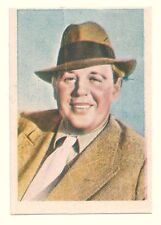 1936 Spanish Nestle Film Star Paper Thin Stamp Sticker  #46 Charles Laughton
