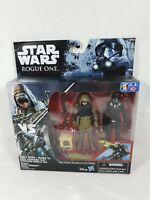 Star Wars Rogue One Rebel Pao & Death Trooper Figures Hasbro 2016 Aus Seller