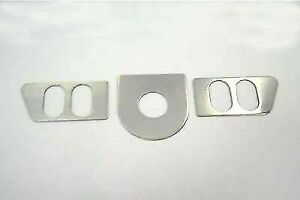 Ignition Switch Cover Set Chrome for Harley Davidson by V-Twin