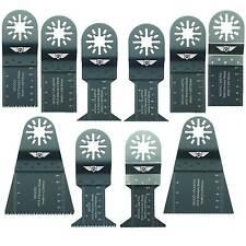 10 x Mix Blades for Fein Multimaster Bosch Ryobi Challenge Multitool Multi Tool