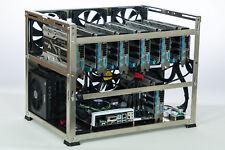 6, 7 GPU, crypto mining rig frame, aluminum case, Crypto Monster