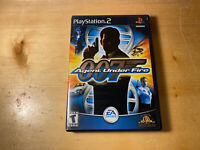 James Bond 007 in Agent Under Fire (Sony PlayStation 2, 2002) Ships Free