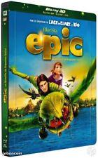 Combo Blu Ray 3D +Blu Ray +  DVD EPIC La bataille du Royaume Secret NEUF sous ce
