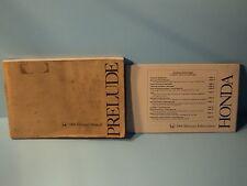 Honda prelude service repair manual 1992-1996 download.