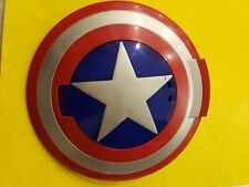Marvel Captain America Disc Launching Shield Cosplay Hasbro 2010 Works w Discs
