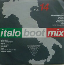 """7"""" 1990 ! ITALO BOOT MIX , Vol. 14 // MINT-? \"""