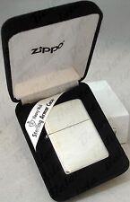 Zippo ARMOR Brushed Sterling Silver Lighter Model 27