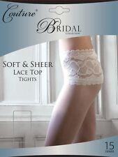 Parte superior de encaje Bridal Calzas