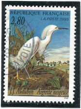 TIMBRE FRANCE OBLITERE N° 2929 FAUNE / AIGRETTE / Photo non contractuelle