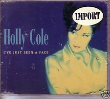HOLLY COLE I've Just Seen a face RARE MIX Australian CD Single SEALED USA SELLER