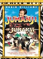 Jumanji (DVD, 2000, Collectors Edition) Brand New