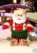 ADDOBBI DI NATALE Babbo Natale salterino con musica/mov