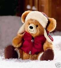 Boomer Winter Bear Wearing Coat and Hat 10 inch Plush Stuffed Animal Cold R33351