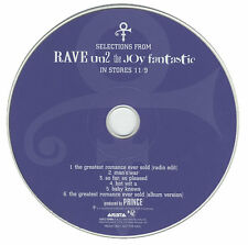 PRINCE RARE CD RAVE IN2 SAMPLER UN2 PROMO NPG LIMITED