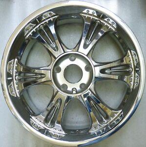 Asa RT 6 Chrome Alloy 8, 5x20 ET38 5x130 New Rt 60 Audi Q7 VW Touareg Cayenne