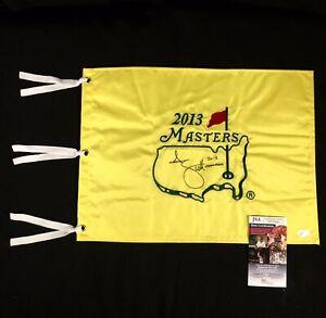 "Adam Scott Signed & Inscribed ""2013 Champion"" 2013 Masters Flag - JSA #DD36143"
