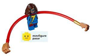 sh375 Lego Marvel Super Heroes 76076 - Ms. Marvel Minifigure - New