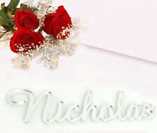 Acrylic Seating Place Card Name Custom Word Wedding Events Table Seating Names