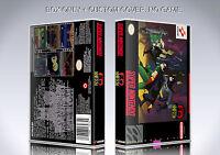 THE ADVENTURES OF BATMAN AND ROBIN. NTSC. BOX. NO GAME. Super Nintendo.