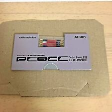 audio-technica AT6101 Cartridge headshell leads PCOCC Quality Stylus Lead Wires