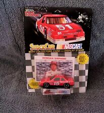 Racing Champions Die Cast Stock Car & Collector Card #15 Morgan Shepherd 1991