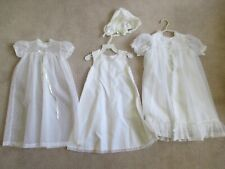 Madonna Baby Christening Baptism Dress Gown Slip Dress Coat Hat White Ivory