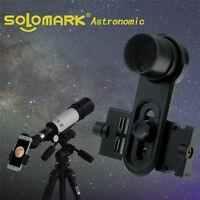 "Solomark 1.25"" telescope Smartphone Eyepiece Adapter -10mm Kellner"