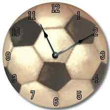 SPORTS Clock Personalized Nursery Wall Art Clock - SOCCER_FT