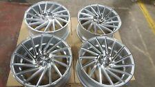 """Riviera RV135 19"""" x 8.5 / 9.5 Silver Polished lip - BMW E90 E91 E92 320 330 325"""