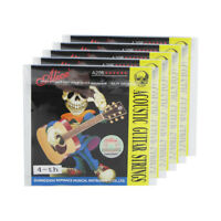 5PCS Acoustic Guitar D-4th Strings Steel Core Coated Copper Alloy Wound Strings