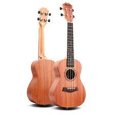 Kmise Sopran Ukulele 23  Zoll Uke Hawaii Gitarre  Fret Mahagoni Körper Neu 2017